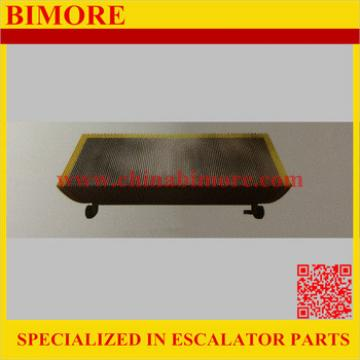 DEE3670892,Escalator Step W Three Sides Demarcation Suitable for Kone ECO RTV RTK Silver Grey Painted 1000mm 800mm