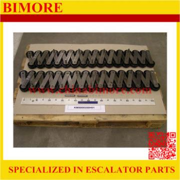 KM5009350H01 BIMORE Escalator step chain 13KV-C, P=133.33mm, roller size 75*23.5mm