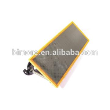 BIMORE DDSA1003015C Escalator stainless steel step with 4 sides yellow plastic demarcations for Sigma