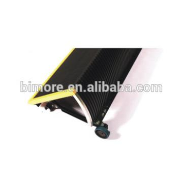 BIMORE XAA26145M1 Escalator stainless steel step with 3 sides yellow plastic demarcations