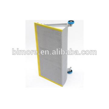 BIMORE XBA455T11 Escalator aluminum step with 3 sides yellow painted demarcations