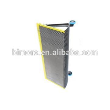 BIMORE XBA455T2 Escalator step with 3 sides yellow painted demarcations