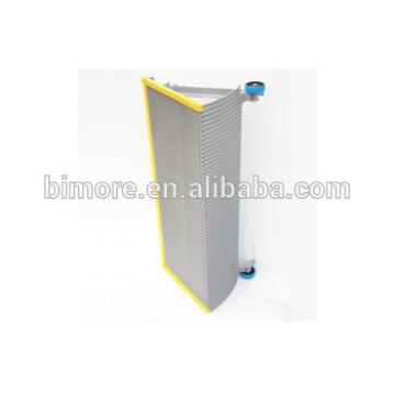 BIMORE XBA455T4 Escalator step with 3 sides yellow plastic demarcations 1000mm