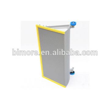 BIMORE XBA455T2 Escalator step with 3 sides yellow plastic demarcations