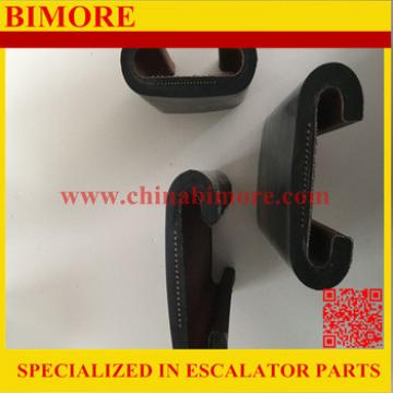 Hyundai Black Rubber Escalator Handrail For Hyundai