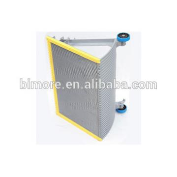 BIMORE XBA455T3 Escalator step with 3 sides yellow plastic demarcations
