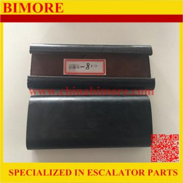 BIMORE Escalator black rubber handrail belt
