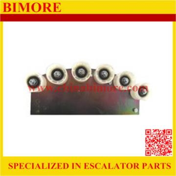 SCH409369,Escalator Tension Rollers and Mtg Left Hand with 6 Roller for Schindler SDS