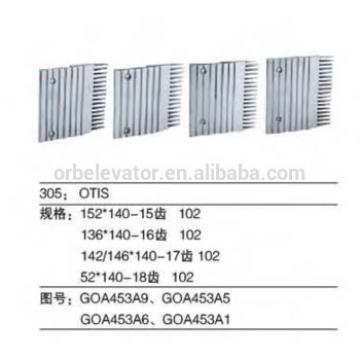Escalator aluminium comb plate