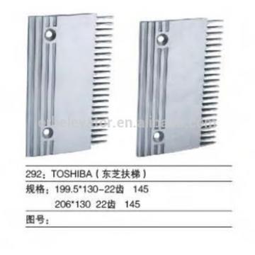 TOSHIBA Escalator comb plate