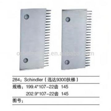 SCHINDLER Escalator aluminium comb plate