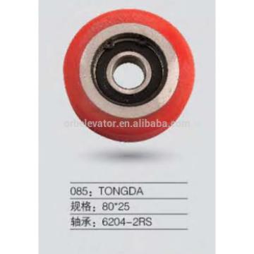 TONGDA escalator roller 80*25 trolley wheels