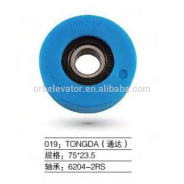 TONGDA escalator trolley wheel 75*23