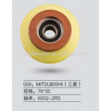 Mitsubishi escalator wheel 76*35 trolley roller