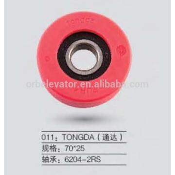 TONGDA escalator roller 70*25