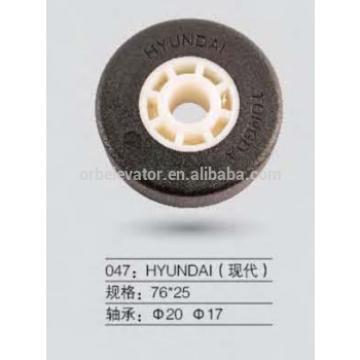 Hyundai escalator step roller 76*25
