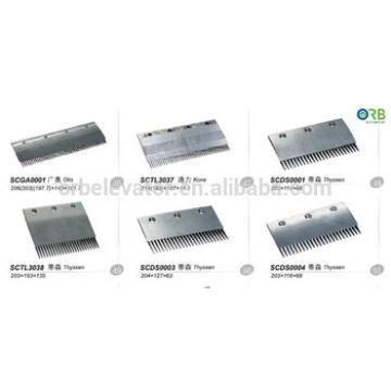 Escalator comb alloy