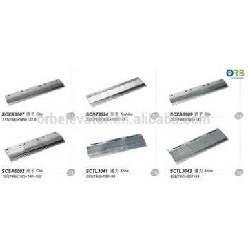 Escalator aluminium alloy comb plate