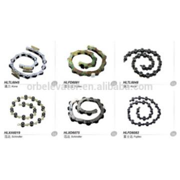 Escalator rotary chain