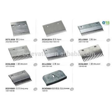 Escalator comb aluminium alloy