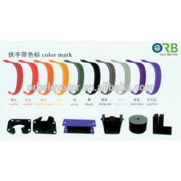 Escalator rubber belt