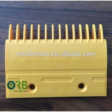 Escalator comb plastic