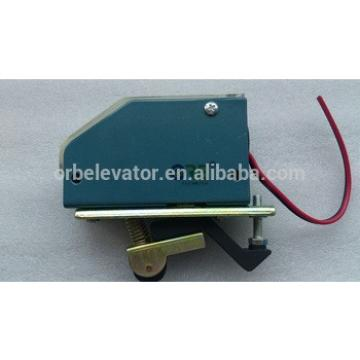 Elevator limit switch for over speed governor