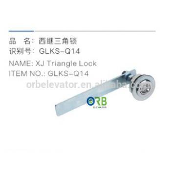 XJ elevator triangular door lock lift parts