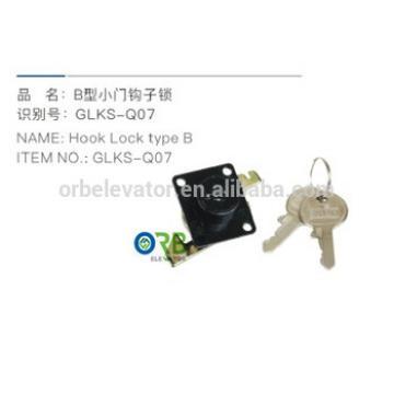 Elevator door hook lock type B