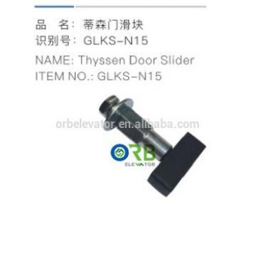 Thyssen elevator door slider