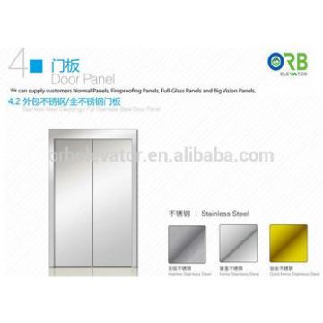 Elevator door panel lift stainless steel cladding door panel