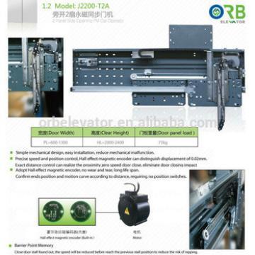 Car door operator, Fermator type, lift car door operator, PM motor, side opening