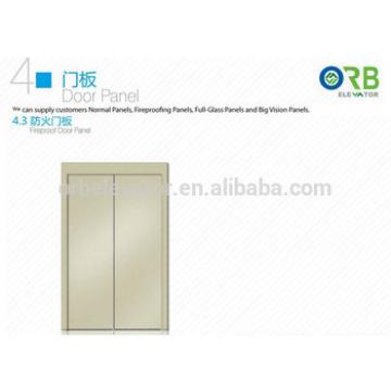 Elevator door panel lift fireproof door panel
