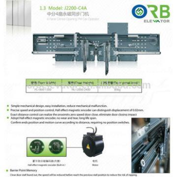 Elevator Car door device Fermator type lift car door operator PM center opening