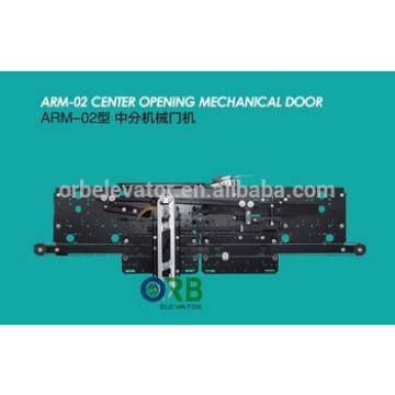 Elevator door Center opening Mechanical Selcom door system Wittur