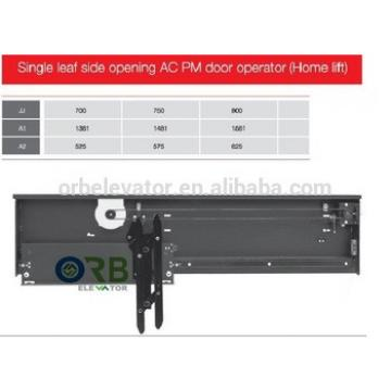Home lift single panel side opening AC PM door operator TKP131-59 Mitsubishi style