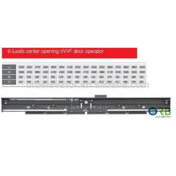 6 panels center opening vvvf lift car door operator THP131-76