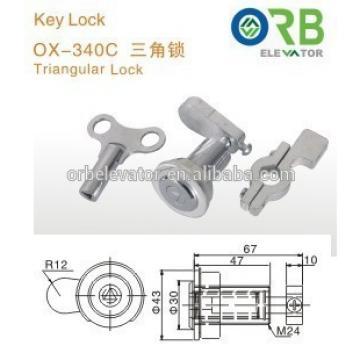 Elevator triangular door lock lift parts