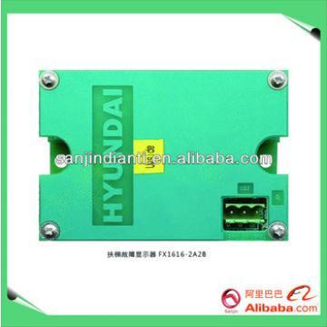 Hyundai escalator fault display FX1616-2A2B, hyundai elevators price