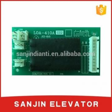 Mitsubishi lift printed circuit board LOA-410A