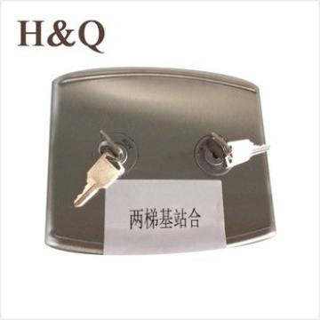 XAA23503J2AS lock hall box HBP11 for Duplex , Hairline for XIZI elevator