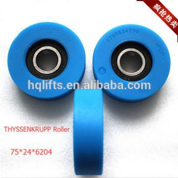 THYSSEN step roller for THYSSENKRUPP escalator Size: 75*24*6204
