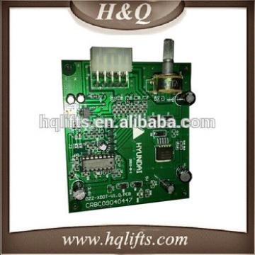 Elevator Control PCB Board, HYUNDAI Elevator PCB, Elevator Control Card OPB-051