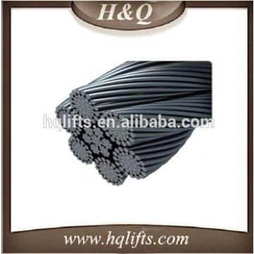 Elevator wirerope , Fibre governor rope , diameter is 6 mm