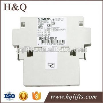 Siemens elevator contactor 3RH1921-1DA11