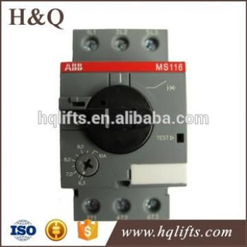 ABB elevator Switch MS116-6.3