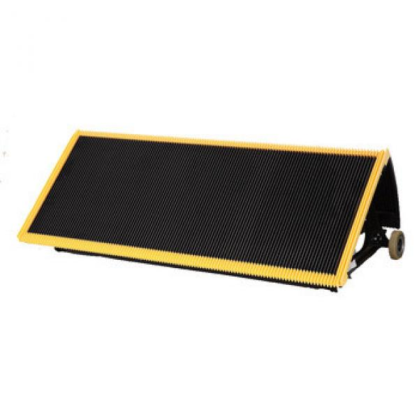 1000mm Black Escalator Stainless Steel Step With 4 Sides Yellow Demarcation #1 image